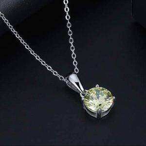 J&LBIJOUX Jewelry - S925 August (peridot) birthstone necklace